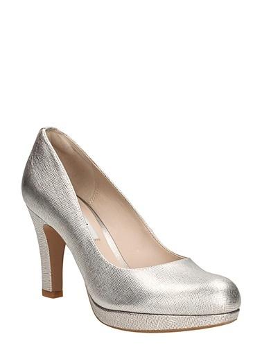 Clarks Topuklu Ayakkabı Pudra